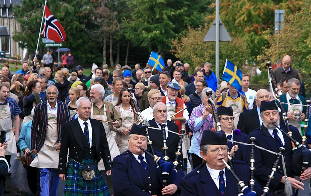 World Porridge Championships March