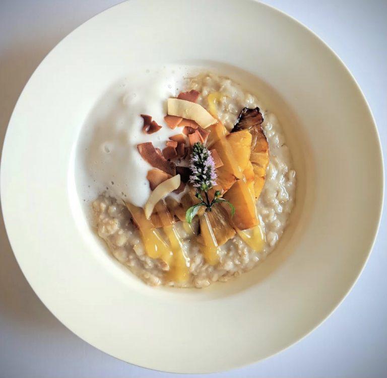 Pina Colada Porridge